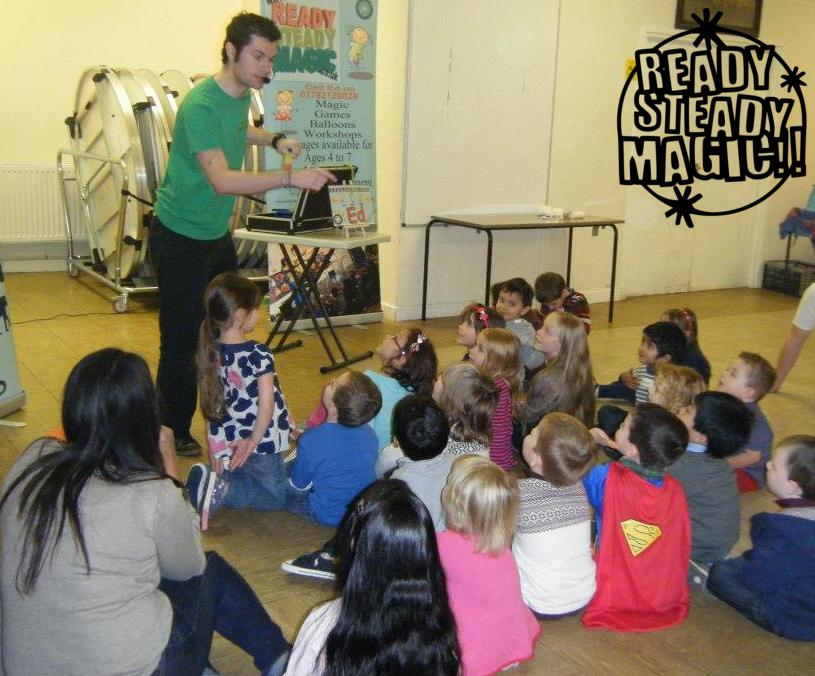 Developing Childrens Imagination through Magic