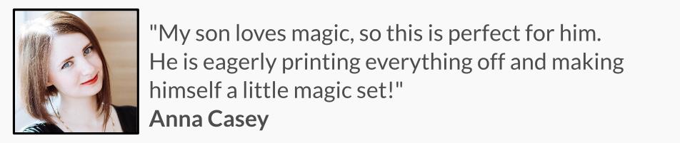 learn magic activity