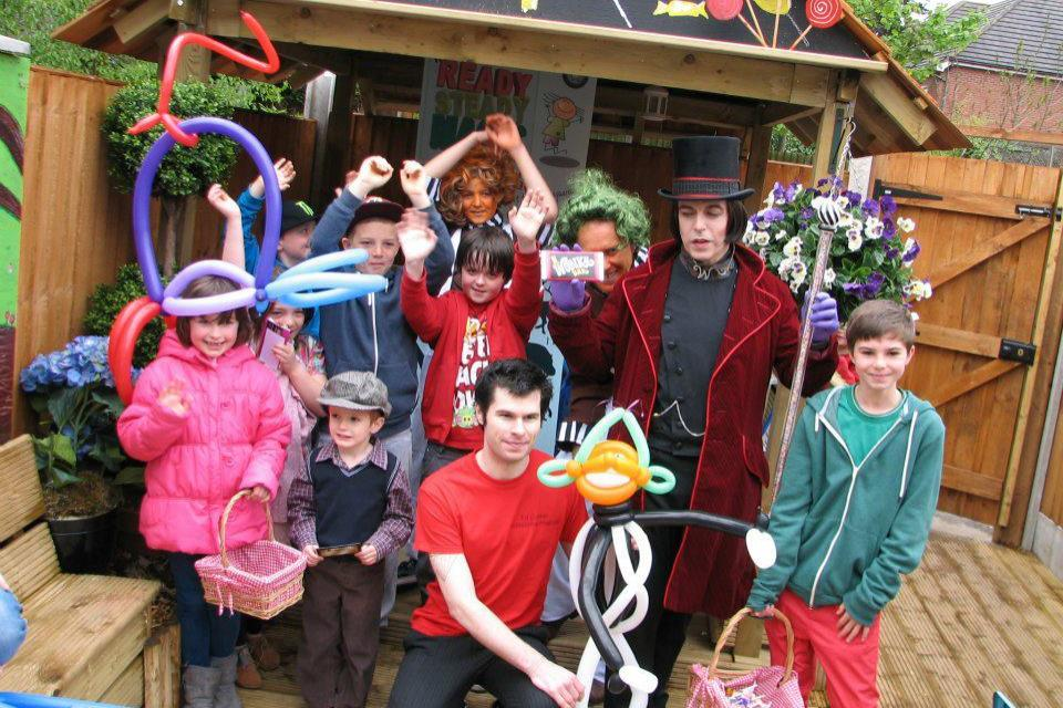 childrens entertainer boldmere