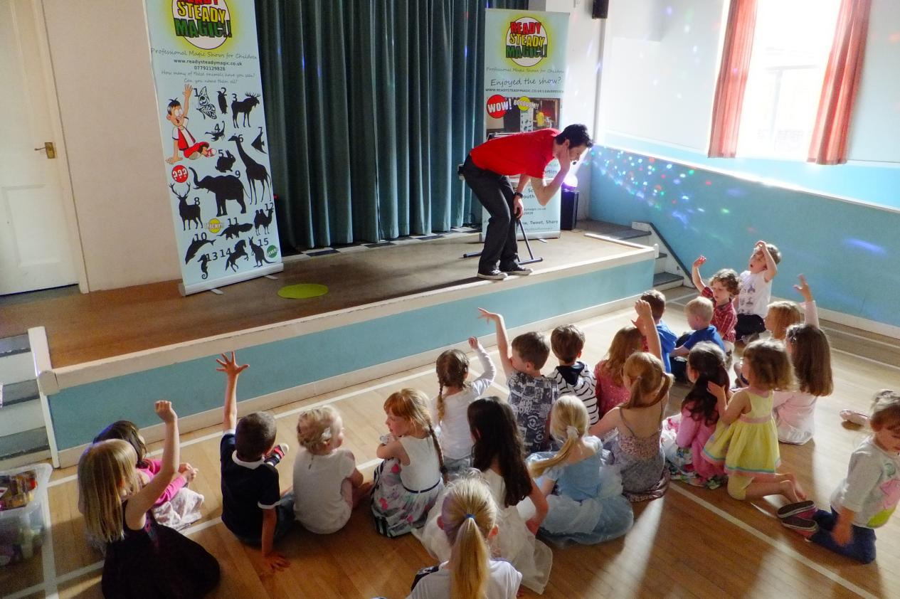 childrens party magic shows