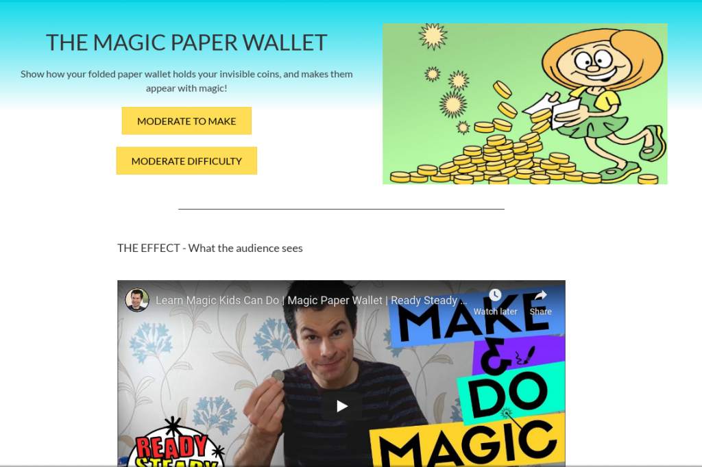 online magic lessons