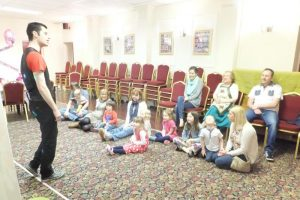 kids party entertainer sutton coldfield